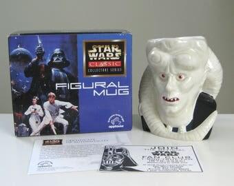 Vintage Star Wars Mug, Star Wars Gift for Dad, Foodie Gift, Kitchen Gift, Coffee Mug, Ceramic Mug, Star Wars Lover Gift, Bib Fortuna