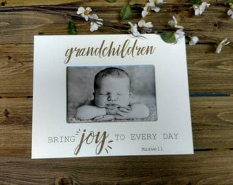 Grandparents Picture Frame, Christmas gift, gift for grandma, personalized picture frame, gift for grandma , grandparent gift