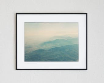 MOUNTAIN CALLING | instant download, printable wall art, minimalist photo, mountain print, travel wall decor, landscape, modern photography