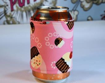 CupcakeCan/Bottle Cozy/Home Decor/ Housewarming Gift/ Kitchen Decor/ Hostess Gift/ Wedding Gift/ Gift for her/ Fun gift/ Boyfriend gift
