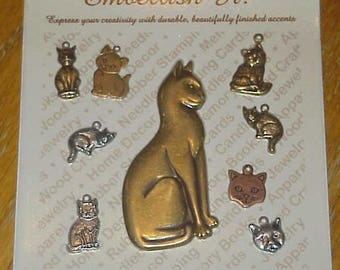 Embellish It by Boutique Trims - Cats & Kittens set - new!