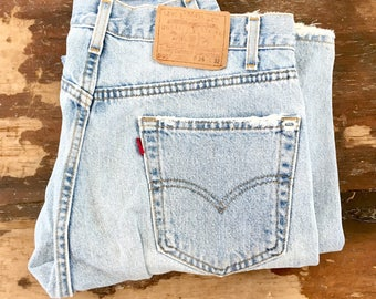 Vintage Levi's 505 Jeans - 35x31 - Relaxed Fit Straight Leg
