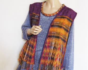 Reserved for Marsha  2X to 3X Tunic and Vest