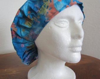 Tie Dye Bouffant Surgical Scrub Hat