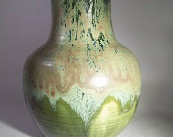 Wheel Thrown Pottery Flower Vase