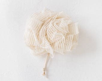 Cotton Shower Poof Loofah