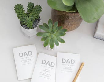 FATHERS Day Cards // DAD - A Daughter's First Love // Dad - A Son's First Hero // Dad - A Son's First Hero - A Daughter's First Love