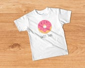 Donut T-shirt, Hipster Kids Shirt, Funny Kids Tee, Cute Kids T-shirt, Hipster Toddler Tee, Donut Kids Tee, Funny Kids Tshirt, Photo Prop