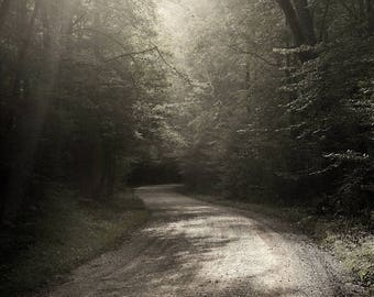 landscape photography, color photography, country road, smoky mountains, appalachian art, rural landscape, appalachia