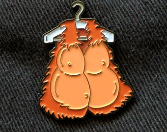 The Simpsons See My Vest! Enamel Pin
