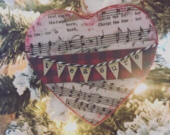 TO TREASURE - Christmas Advent Devotional & Ornament Craft DIY small group study