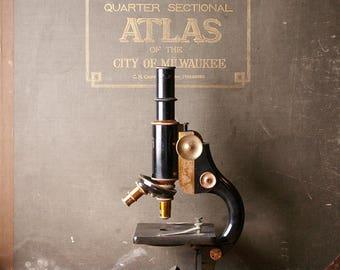 Vintage Spencer Buffalo Microscope - Made for the Central Scientific Company CENCO - Model 92838