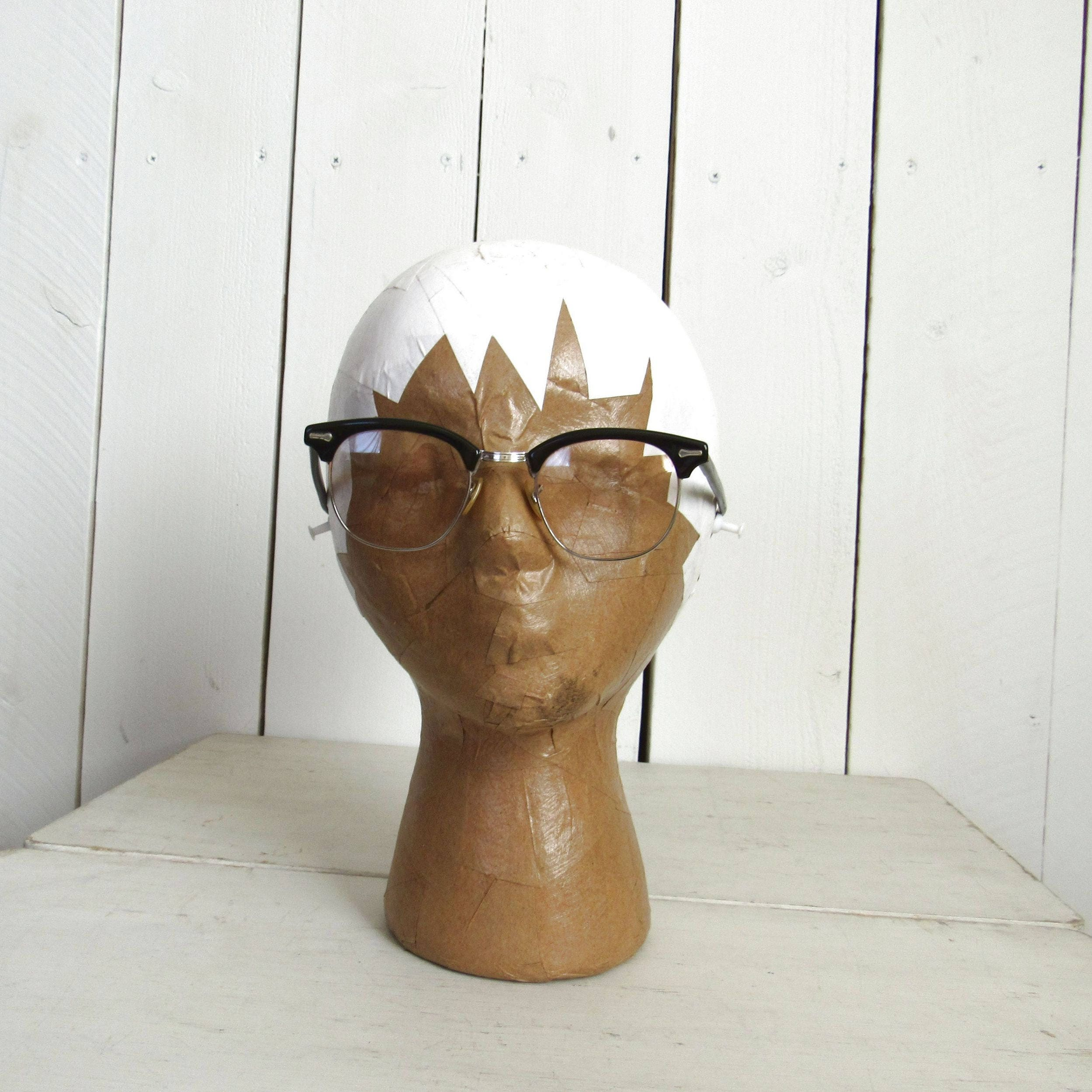 Shuron Browline Glasses - 1950s Mid Century Buddy Holly Glasses ...