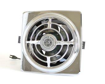 Berns Air King Kitchen Exhaust Fan Vintage 1940s 1950s Architectural Salvage