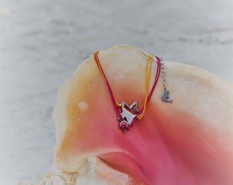 Starfish charm friendship bracelet