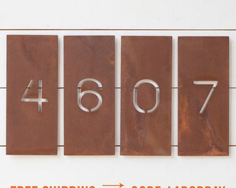 The Allandale House Numbers