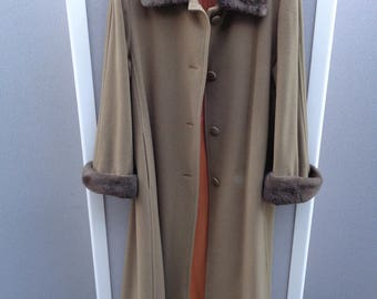 Vintage Wool and Cashmere Coat