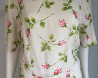 1950's Roses Dress