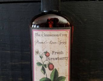 Fresh Strawberry  room and linen spray ~ Scents of Summer