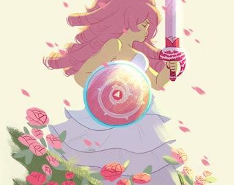 Rose Quartz (Print)