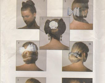Hair Bow Pattern Simplicity 8000 Uncut