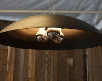 The Dark Light - Dark Bronze Anodized Pendant