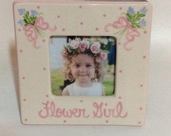 Square Flower Girl Frame