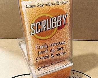 Scrubby Soap Citrus Cleaner  2 Bar Pack