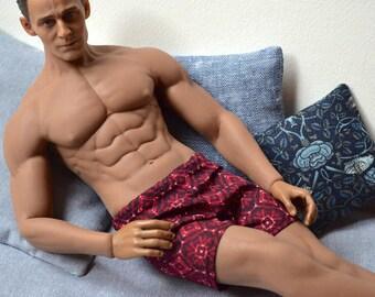Underwear for 1/6 Male Figure - Swimwear - Pyjamas - Shorts - Pants - Handmade