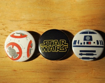 Star Wars Pin back Buttons