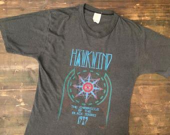 1985 Hawkwind Chronicle Of The Black Sword T-Shirt