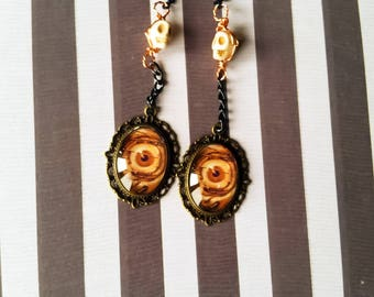 Creepy Eye Earrings - Eye Earrings - Creepy Jewelry - Creepy Cute - Dangle Earrings - Earrings Dangle - Earrings - Earrings Handmade