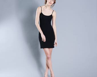 Body con jersey dress black