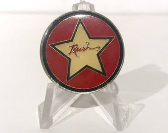 True Vintage RUSH: 2112 Star Enamel Pin