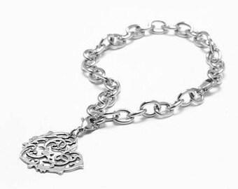 """Spoon Charm Bracelet: """"Alicia"""" by Silver Spoon Jewelry"""