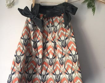 Size 1 Gazelle Tie Up Sundress