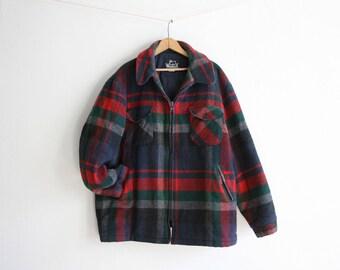 Woolrich Plaid Jacket XLarge