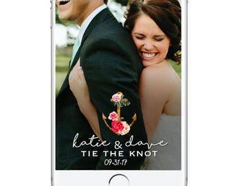 Wedding Snapchat Geofilter, Anchor Custom Wedding Snapchat Filter, Wedding Snapchat Nautical, Personalied Wedding Geofilter, Rustic Wedding