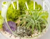 Kit petit Terrarium sur mesure || Construisez votre propre usine d'Air + Kit de bricolage de cristal