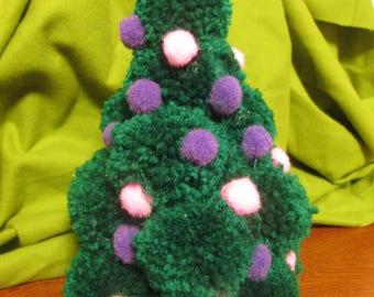Pompom Christmas Tree