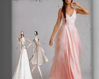 8289 Simplicity Special Occasion Dresses Sewing Pattern Sizes 12-20