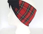 Cotton Tartan, Retro Head...