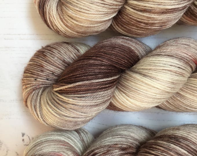 Chalk and Paint- 100grams 100% Super wash merino  4 ply wool