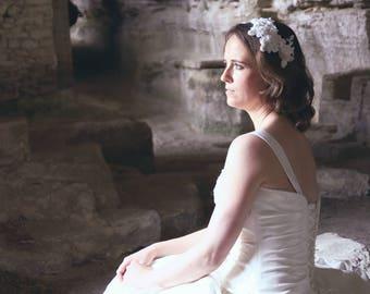 Lace hairaccessory, bridal haircomb, wedding haircomb, bridal headpiece, bridal hairaccessory, wedding headpiece