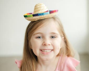 Mini Sombrero || Taco Bout A Party || Fiesta Party || Cinco De Mayo || Uno Party Hat || Add Any Number