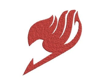 Machine Embroidery Design Instant Download - Fairy Tail Guild Symbol