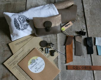 KIT to make a wedding purse leather
