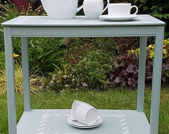 Hand Painted Vintage Tea Trolley in 'Mother Duck'