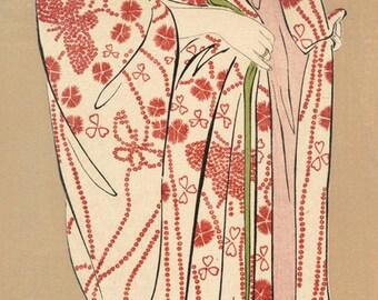 Hashiguchi prints Goyo erotic