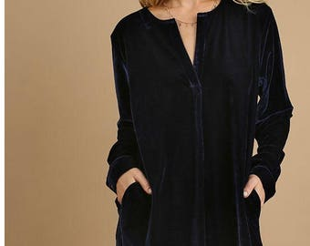 Navy Velvet Tunic Dress,Velvet Tunic Mini,Navy Mini,Wine Halter Midi,Pixieclothing,Velvet Tunic Dress,Velvet Dress,Velvet Tunic,Gift for Her